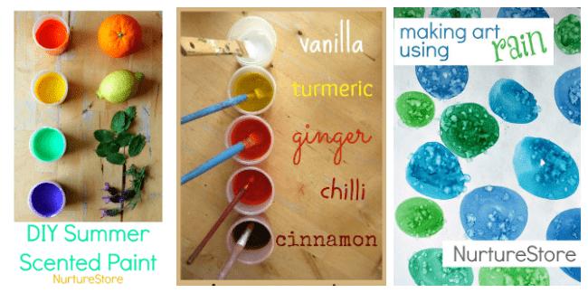easy homemade paint recipes