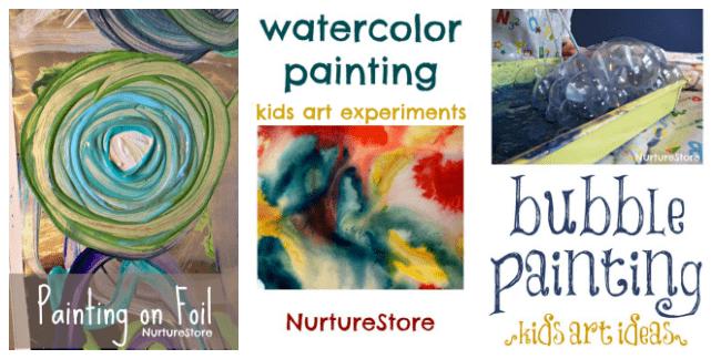 easy painting activities for preschool
