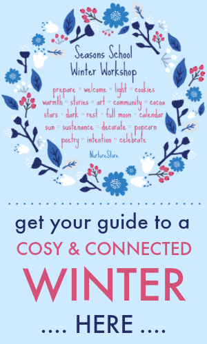 winter homeschool plans