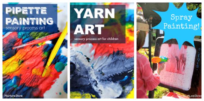 process art activities