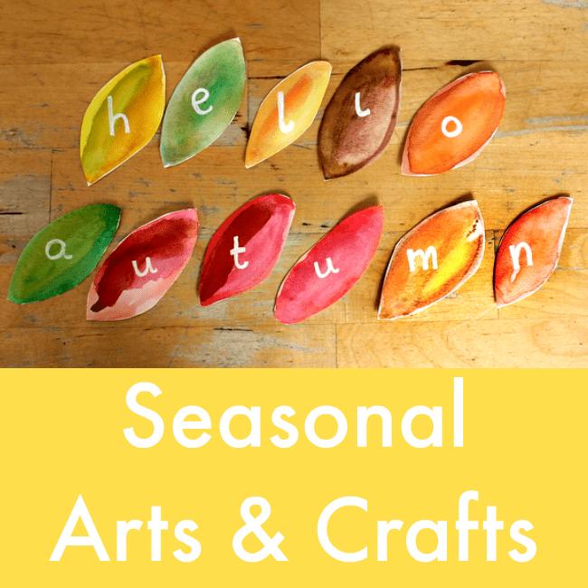 Seasonal Arts Crafts Projects For Children Nurturestore