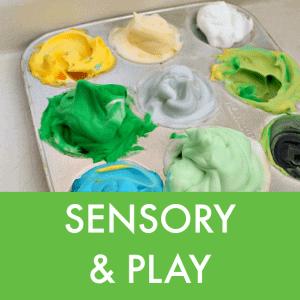 sensory and play