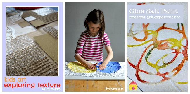 sensory art activities for children