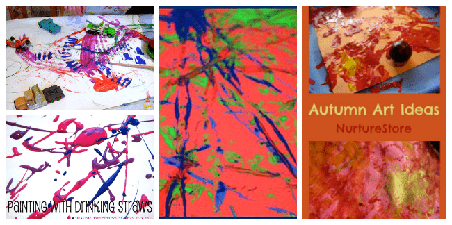 sensory art activities for toddlers