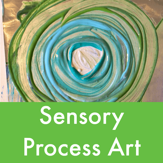 Sensory Process Art Projects For Children Nurturestore
