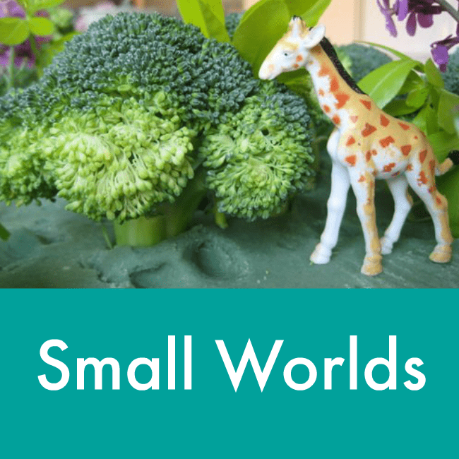 small world ideas for pretend play