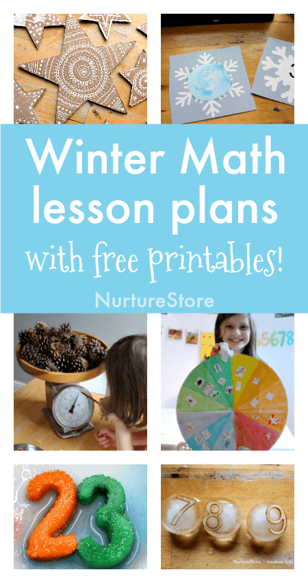 winter math lesson plans free printables, winter math centers