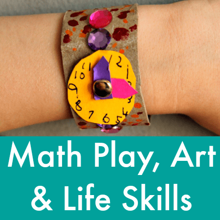 math play art and life skills