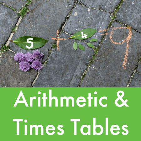 arithmetic and times tables
