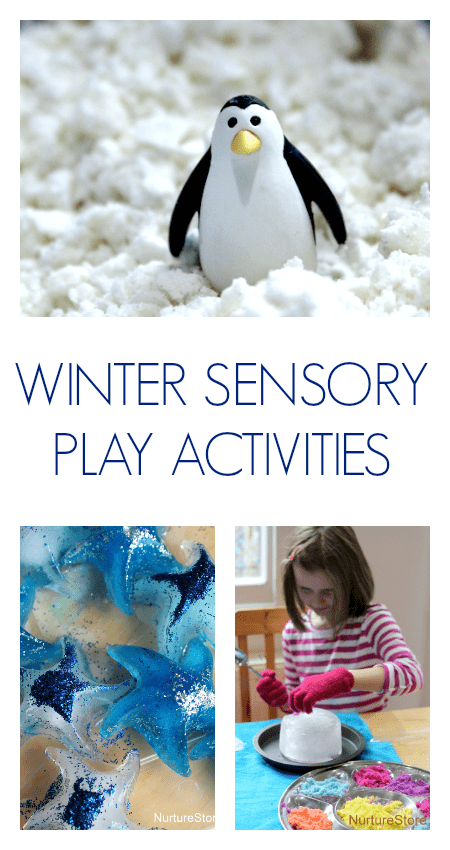 10 fun ideas for easy winter sensory play activities for children