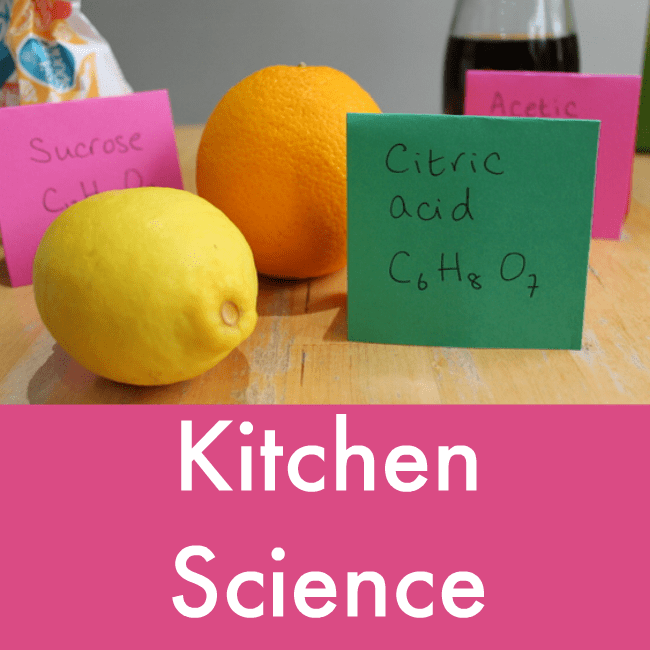 Kitchen Science: Science And Nature Activities For Children