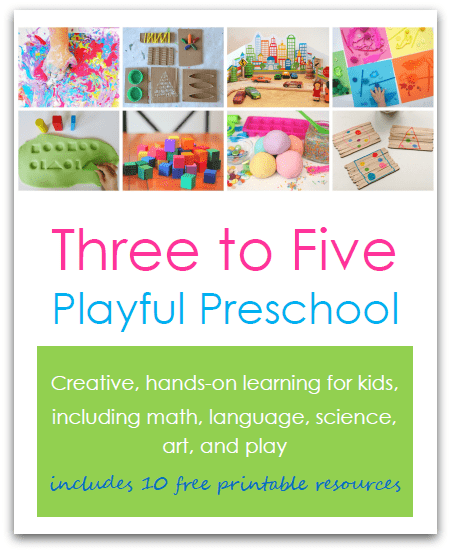 play based preschool curriculum