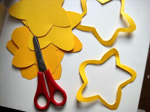 simple card daffodils