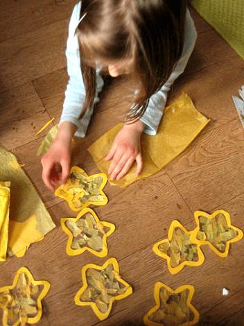 easy preschool daffodil craft
