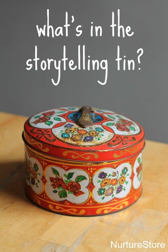 storytelling tin