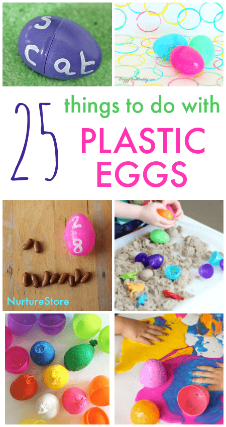 things to do with plastic egg activities, plastic easter egg actvities