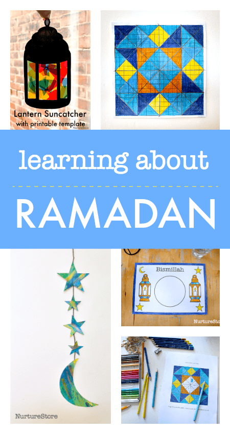 learning about ramadan unit for kids, ramadan printables, ramadan lesson plan