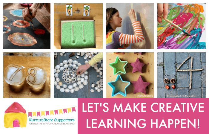 NurtureStore supporters make creative learning happen