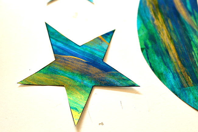 moon and stars craft for kids