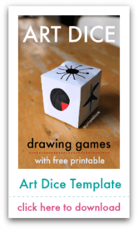 art dice