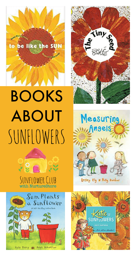 books about sunflowers for children