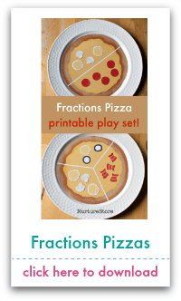 fractions pizzas