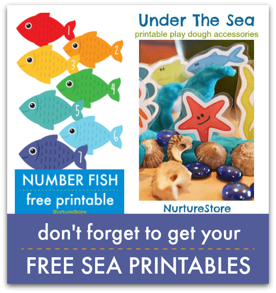 picture relating to Free Printable Ocean Pictures referred to as Foil fish craft :: ocean concept for preschool - NurtureStore