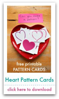 heart pattern cards