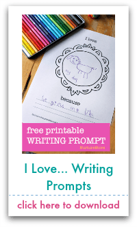 I love writing prompts
