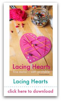 lacing hearts
