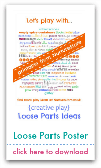 loose parts poster
