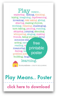 play means... poster