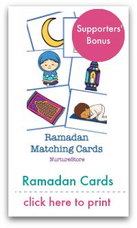 ramadan matching cards