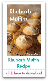 rhubarb muffin recipe