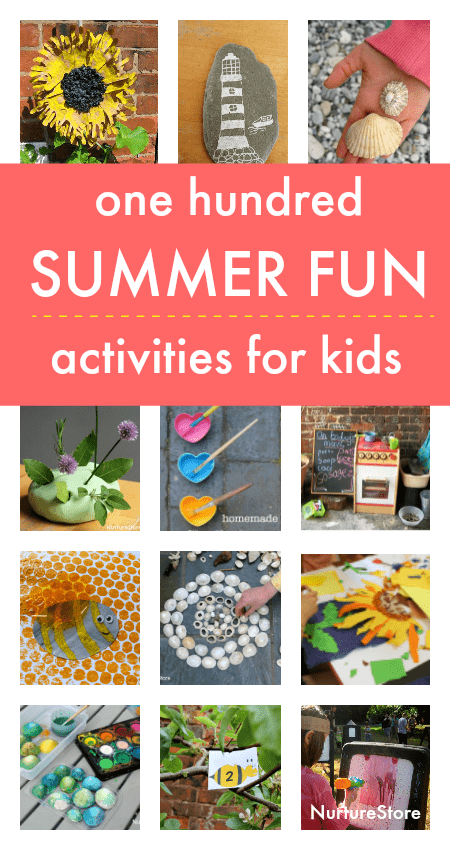 fun and easy summer activities for kids, at home summer camp ideas