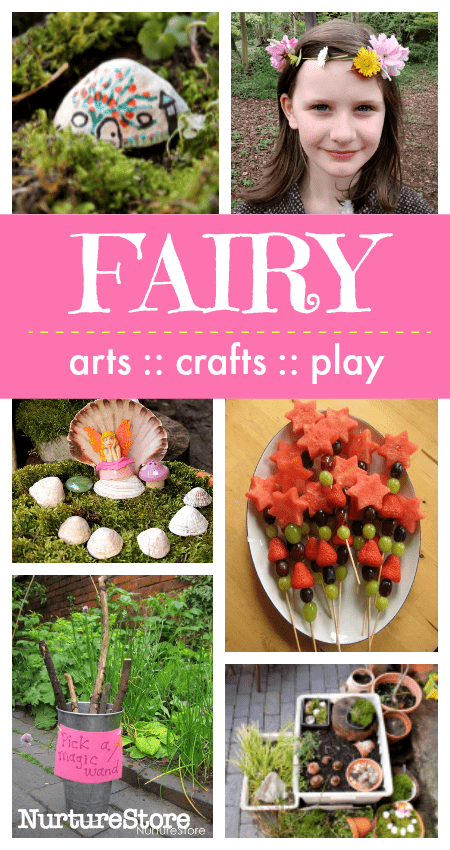 fairy theme crafts and activities, fairy party ideas