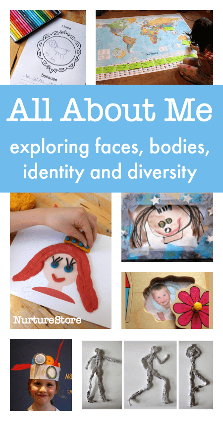 all about me diversity resources for children