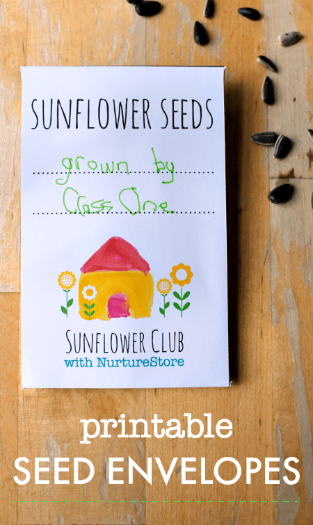photo about Printable Seed Packets named Printable seed packets for your university gardening club