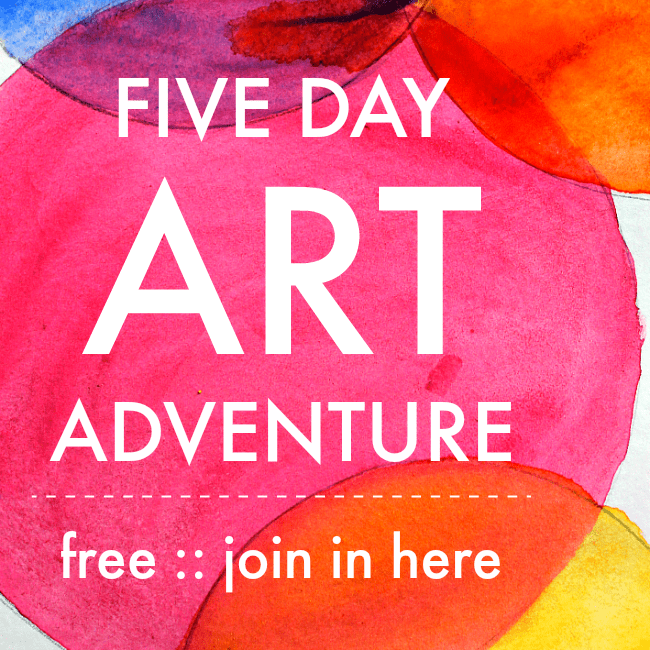 5 day art adventure