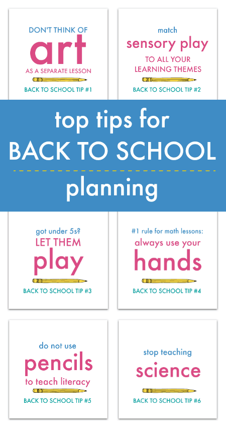 top tips for back to school planning and back to school hacks