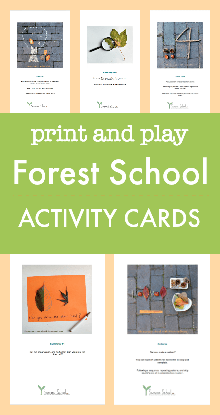 forest school activities printables,