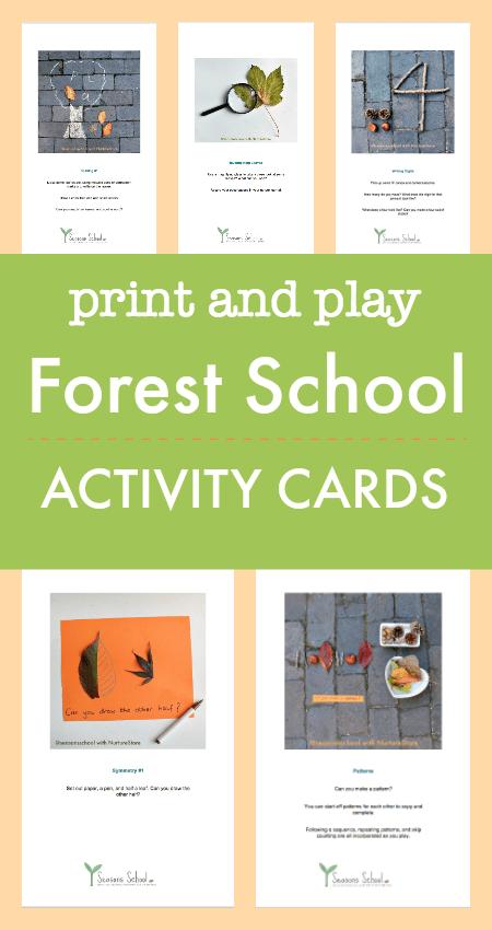 forest school activities printables,