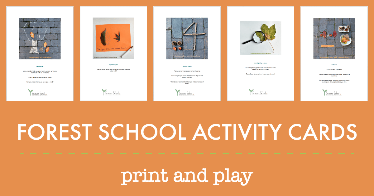 30 Forest School Activities Printables Nurturestore