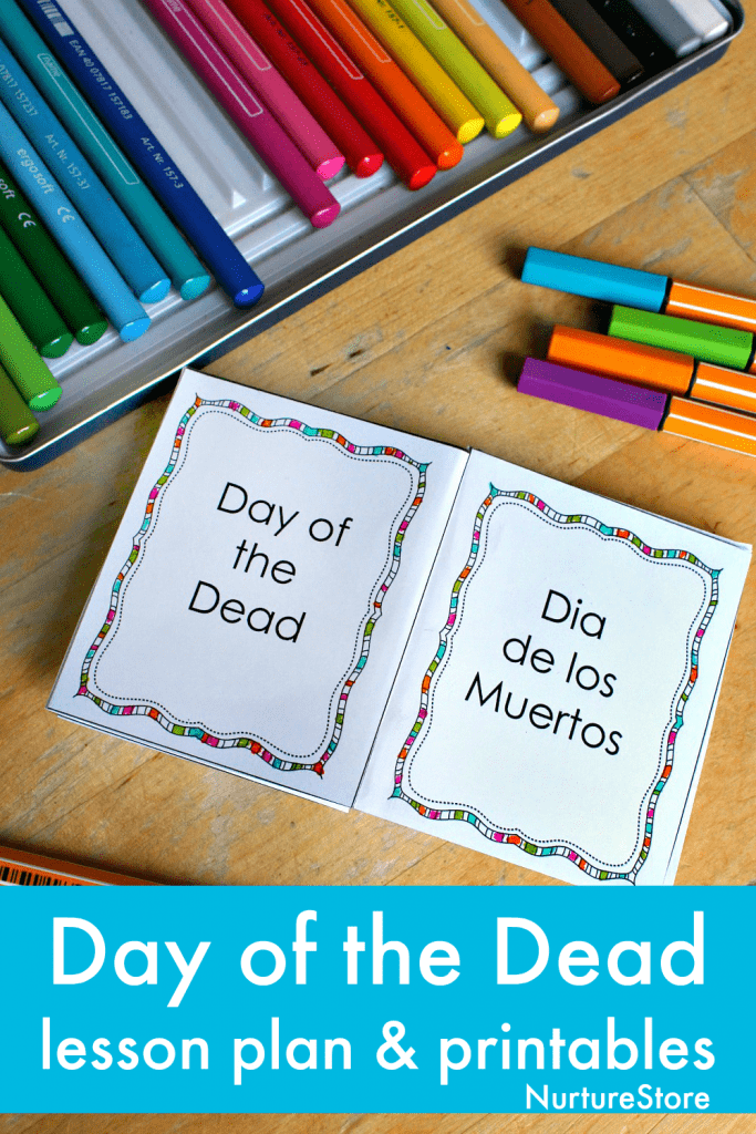 day of the dead unit lesson plan printables