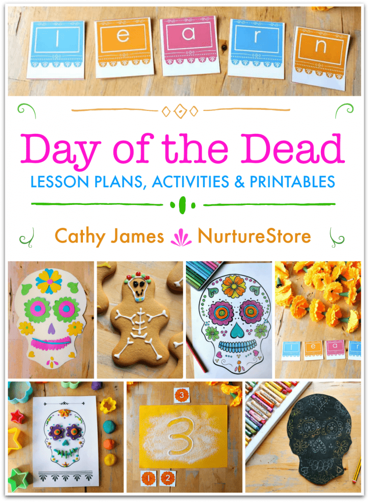 Day of Dead activities, lesson plans, printables for Dia de los Muertos