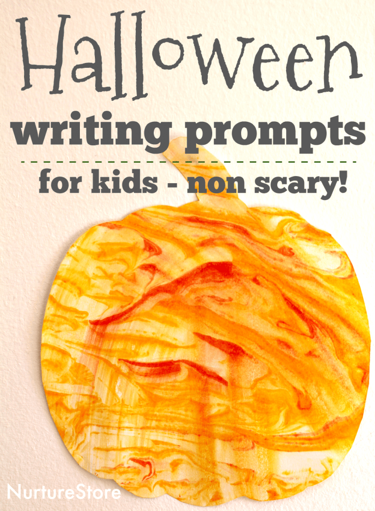 non scary halloween writing prompts for kids
