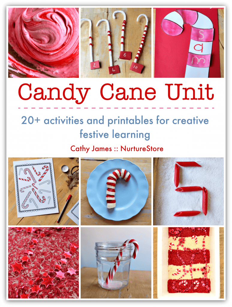 candy cane activities for kids, christmas unit candy cane lesson plans