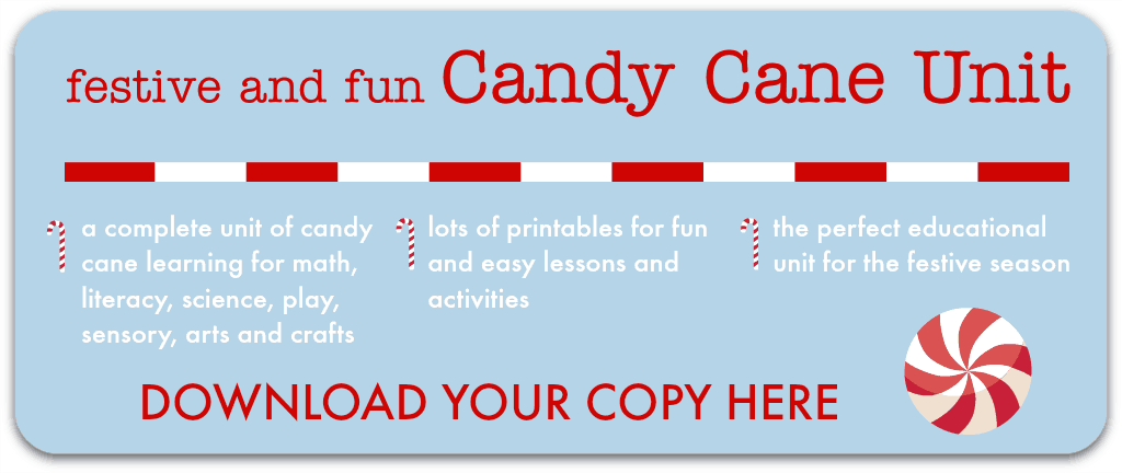 candy cane unit activities printables