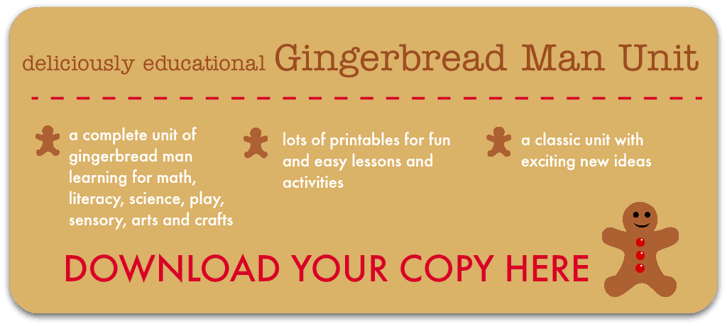 picture relating to Gingerbread Man Printable named Gingerbread Male actions and printable lesson systems