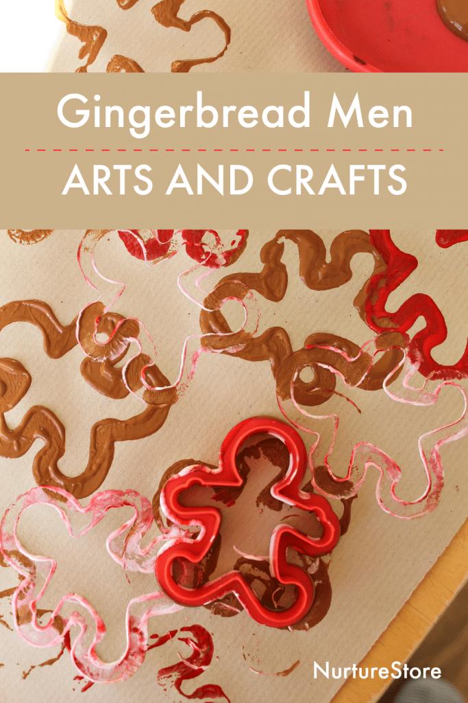 gingerbread men arts and crafts